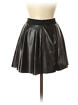 Victoria's Secret Pink Faux Leather Skirt Size XS