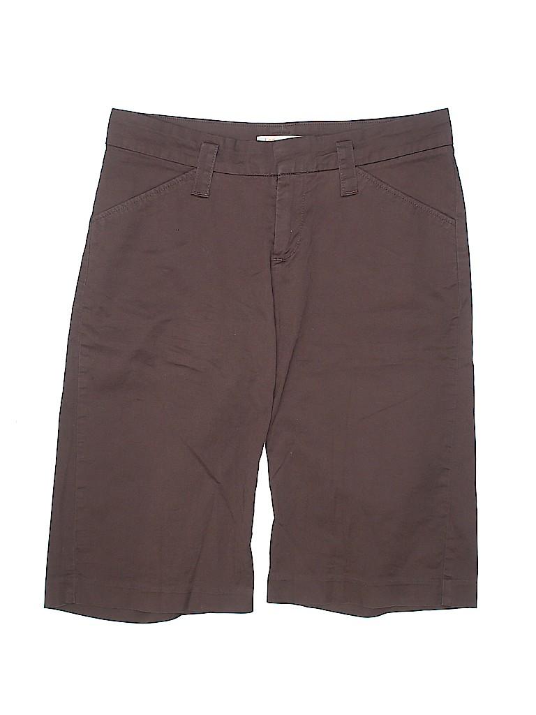 Lee Women Khaki Shorts Size 8