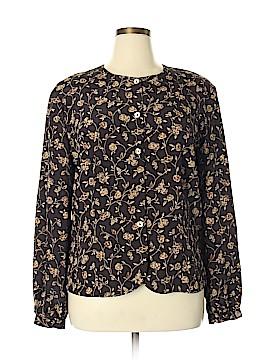 Liz Claiborne Long Sleeve Blouse Size 16