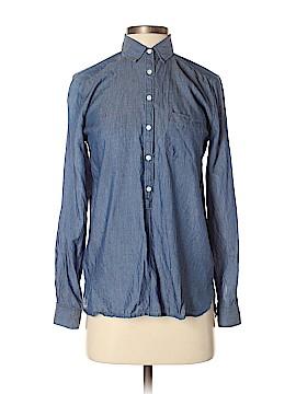 Ann Taylor LOFT Long Sleeve Button-Down Shirt Size XS