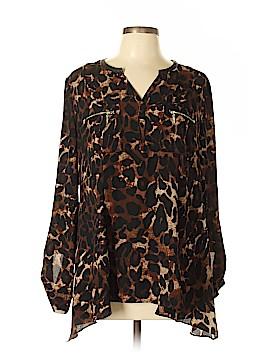 Rafaella Long Sleeve Blouse Size L
