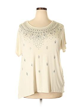 DressBarn Short Sleeve Top Size 1X (Plus)