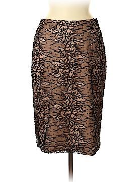 Carolina Herrera Silk Skirt Size 8