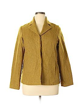 Eileen Fisher Wool Coat Size L (Petite)