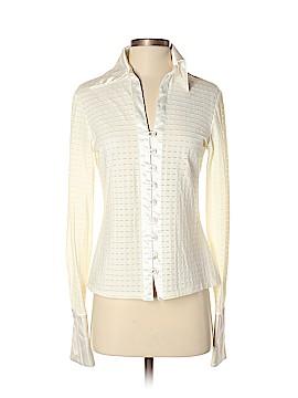 Ronni Nicole Long Sleeve Button-Down Shirt Size M
