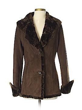 Calvin Klein Faux Leather Jacket Size XS