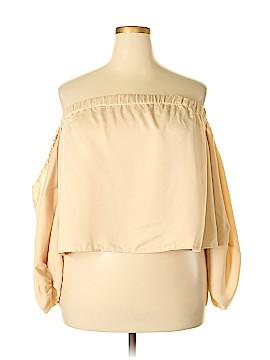Rue21 3/4 Sleeve Blouse Size 1X (Plus)