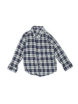 American Apparel Long Sleeve Button-Down Shirt Size 6