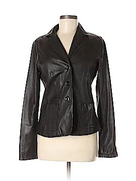 Vince. Leather Jacket Size 6