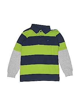 Wrangler Jeans Co Long Sleeve Polo Size 8