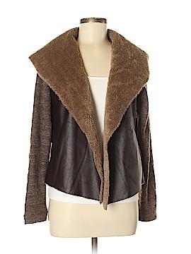 Mystree Faux Leather Jacket Size M