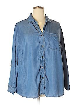 Grand & greene Long Sleeve Button-Down Shirt Size 2X (Plus)
