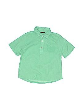 Mini Boden Short Sleeve Button-Down Shirt Size 4 - 5
