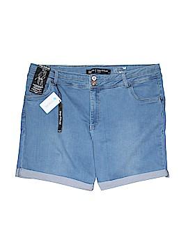 Simply Be Denim Shorts Size 24 (Plus)