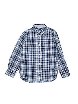H&M L.O.G.G. Long Sleeve Button-Down Shirt Size 5