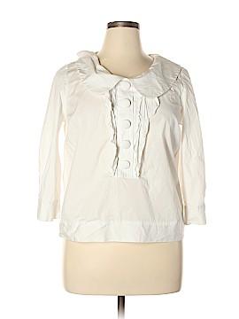 VERTIGO 3/4 Sleeve Blouse Size XL