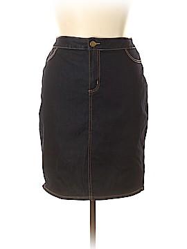 Forever 21 Denim Skirt Size 16
