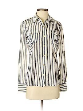 Tory Burch Long Sleeve Button-Down Shirt Size 4
