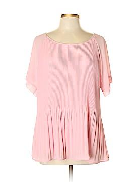 NY&Co Short Sleeve Blouse Size XL