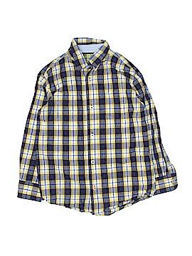Arizona Jean Company Long Sleeve Button-Down Shirt Size 6 - 7