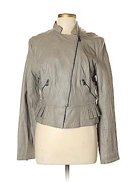 Guess Faux Leather Jacket Size L