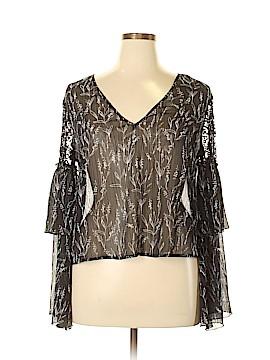 Zara Basic Long Sleeve Blouse Size XL