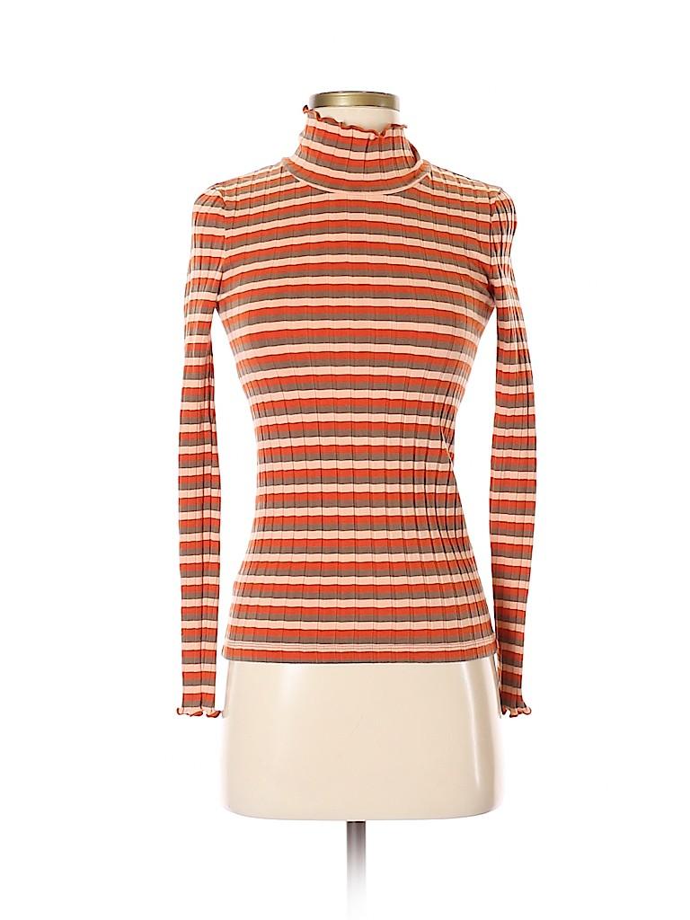 Madewell Women Long Sleeve Turtleneck Size XXS