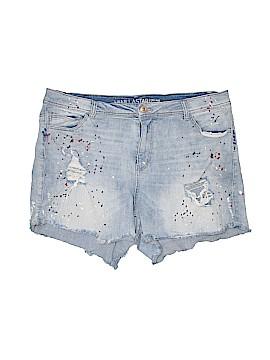 Vanilla Star Denim Shorts Size 20 (Plus)