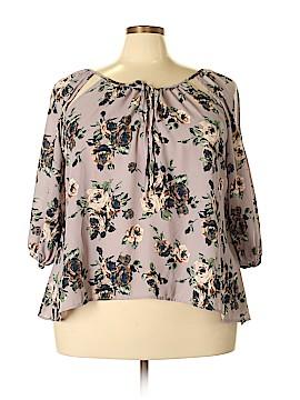 Rue21 3/4 Sleeve Blouse Size 2X (Plus)
