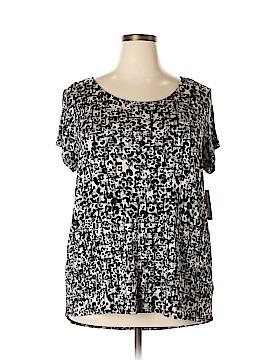 Covington Short Sleeve Top Size 2X (Plus)