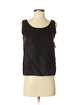 Ann May Sleeveless Silk Top Size M