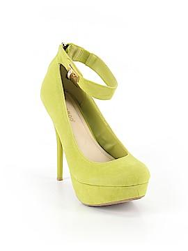Bamboo Heels Size 8 1/2