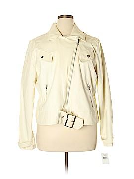 Dollhouse Faux Leather Jacket Size 2X (Plus)