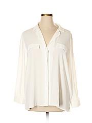 ASOS Curve Long Sleeve Button-down Shirt