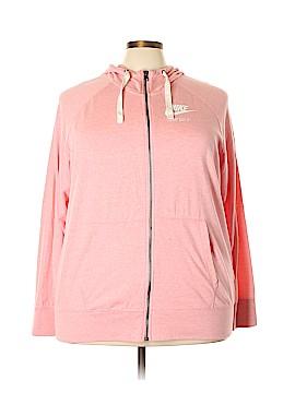 Nike Zip Up Hoodie Size 3X (Plus)