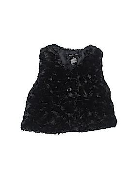 CALVIN KLEIN JEANS Faux Fur Vest Size 2T