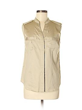 MICHAEL Michael Kors Sleeveless Button-Down Shirt Size 6