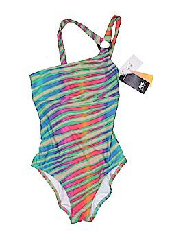 ABS Allen Schwartz One Piece Swimsuit Size 4