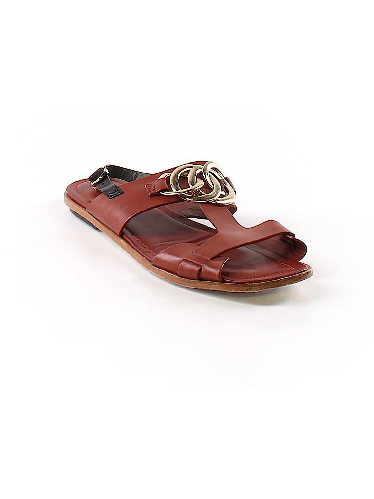 a8137da421e Tod's 100% Leather Solid Brown Sandals Size 40 (EU) - 78% off | thredUP