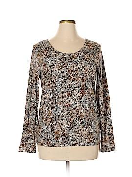 Rafaella Long Sleeve T-Shirt Size XL