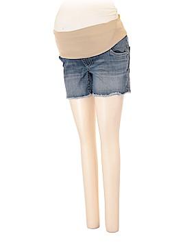 Indigo Blue Denim Shorts Size 3X (Maternity)