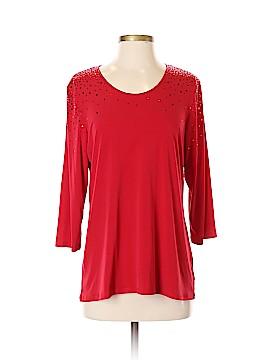 Susan Graver 3/4 Sleeve Top Size XS