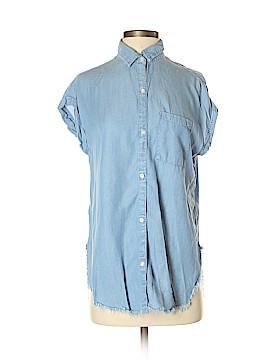 Aerie Short Sleeve Button-Down Shirt Size XS