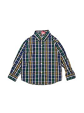 IZOD Long Sleeve Button-Down Shirt Size 3T