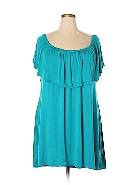 Rue21 Short Sleeve Top Size 3X (Plus)