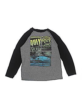 Quiksilver Long Sleeve T-Shirt Size M (Kids)