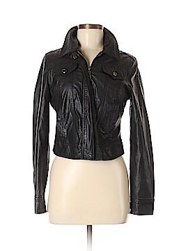 JouJou Faux Leather Jacket Size M