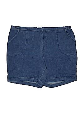Just My Size Denim Shorts Size 4X (Plus)