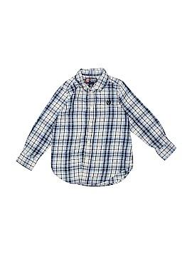 Chaps Long Sleeve Button-Down Shirt Size 4T - 4
