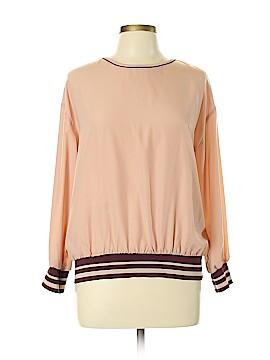 Zara Basic Long Sleeve Top Size L